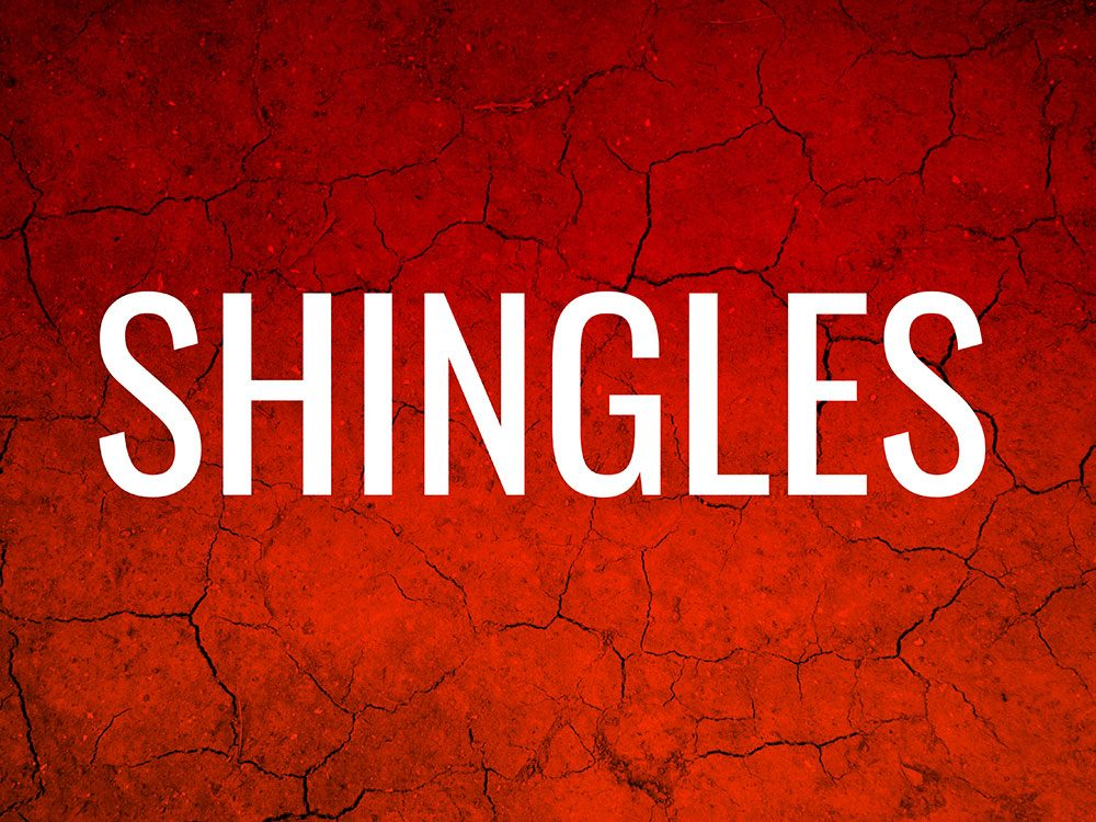 Skin condition: Shingles
