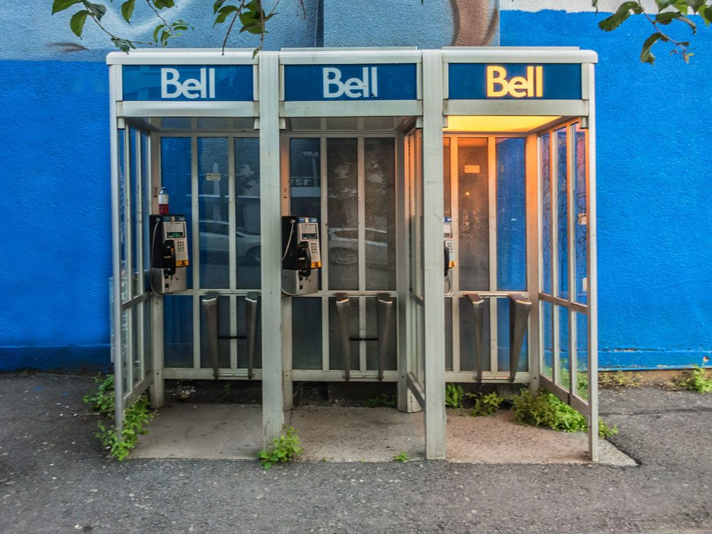 Bell Canada payphone