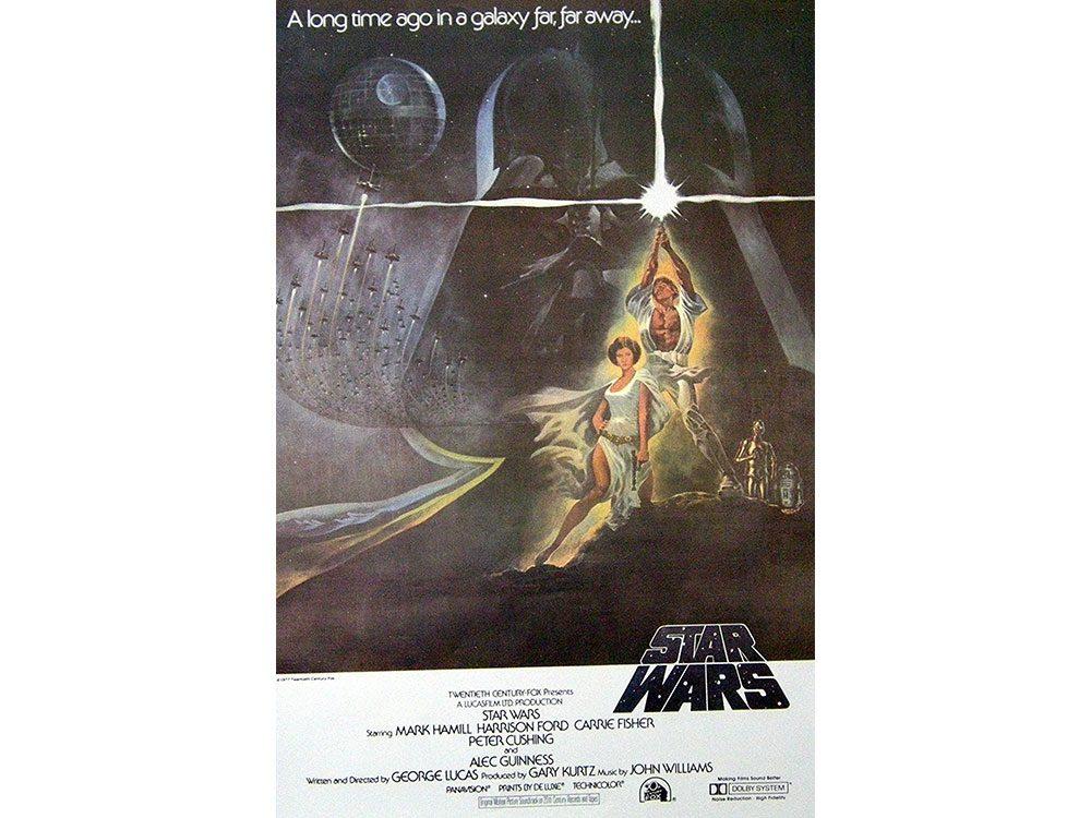 Star Wars movies poster