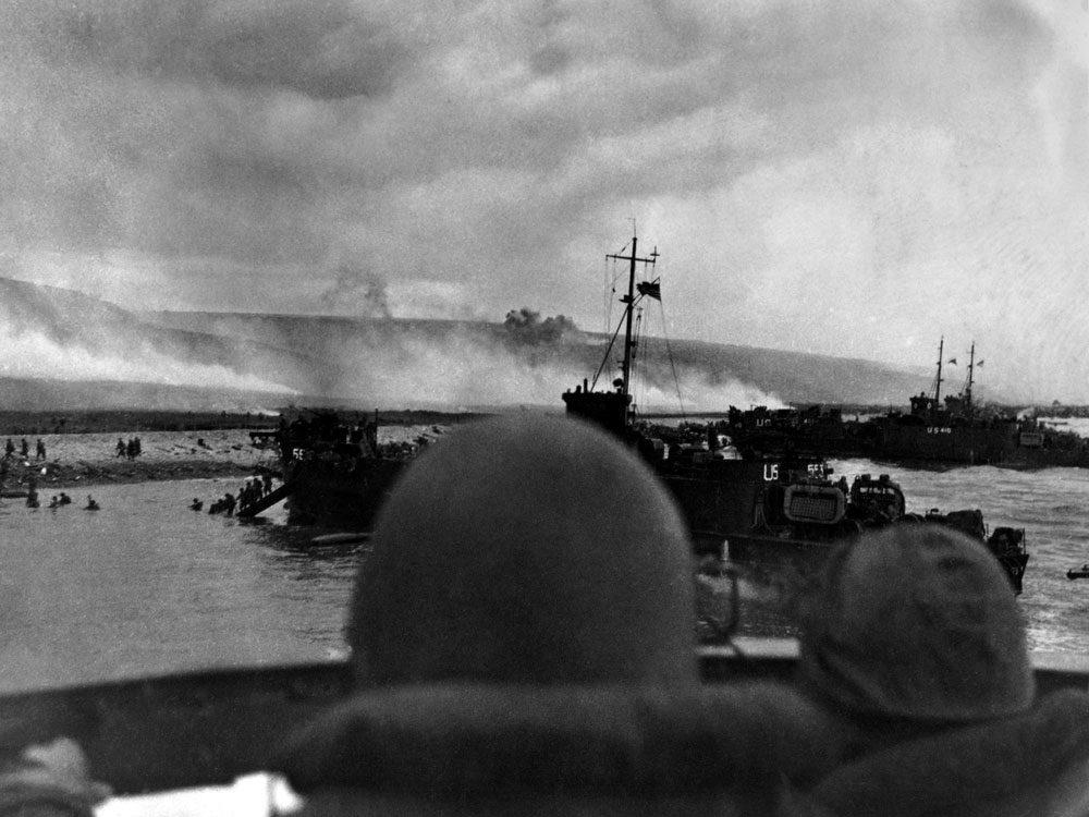 Normandy landings in WWII
