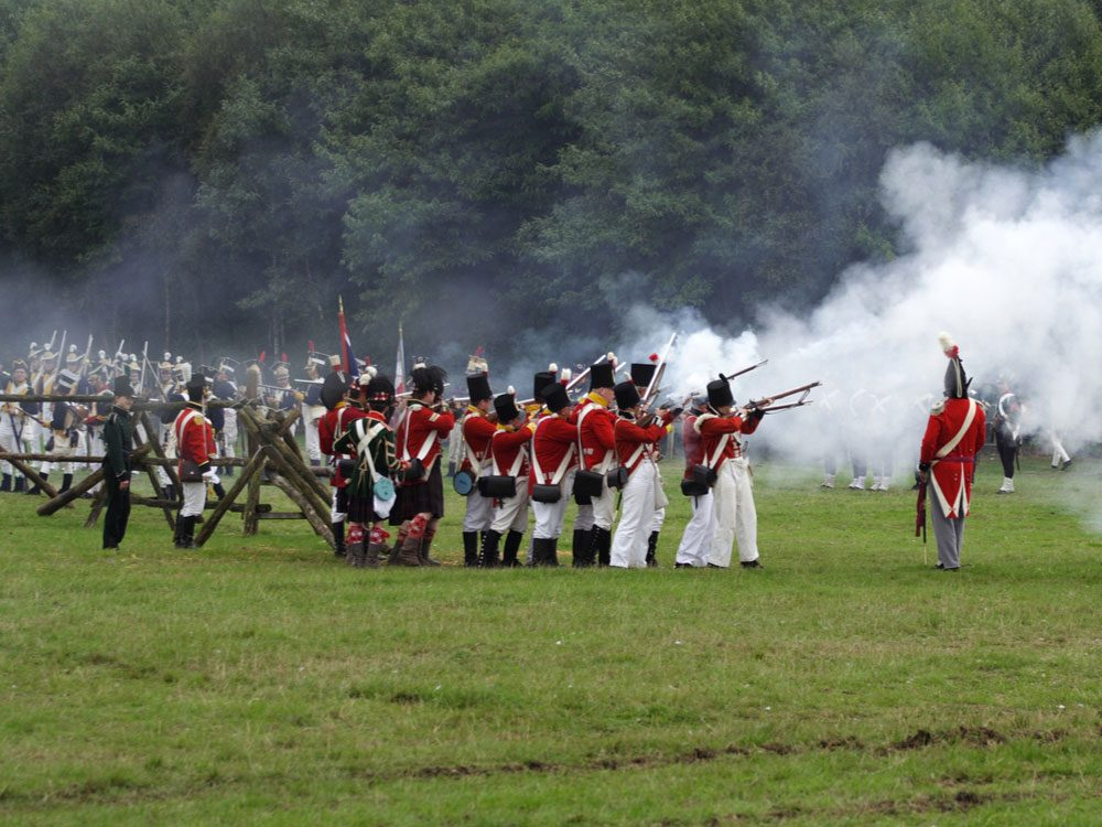 French and Indian War re-enactment