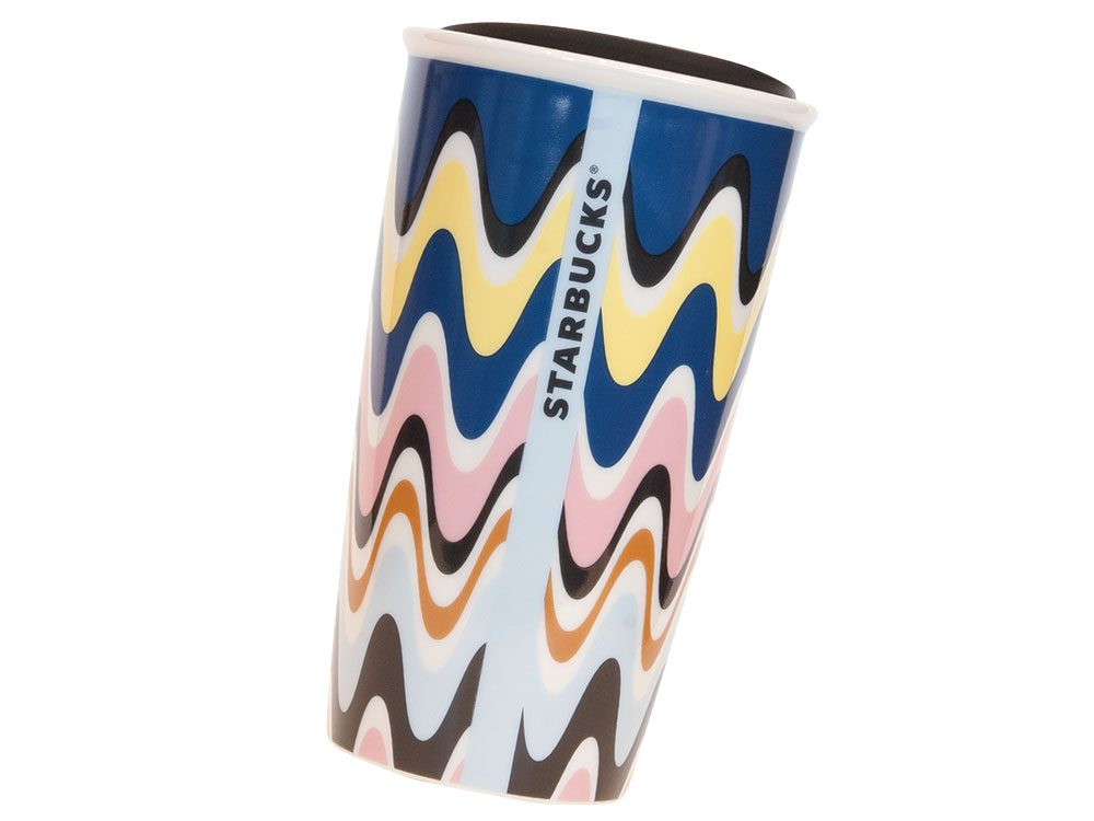 Essential travel accessories: Starbucks travel mug