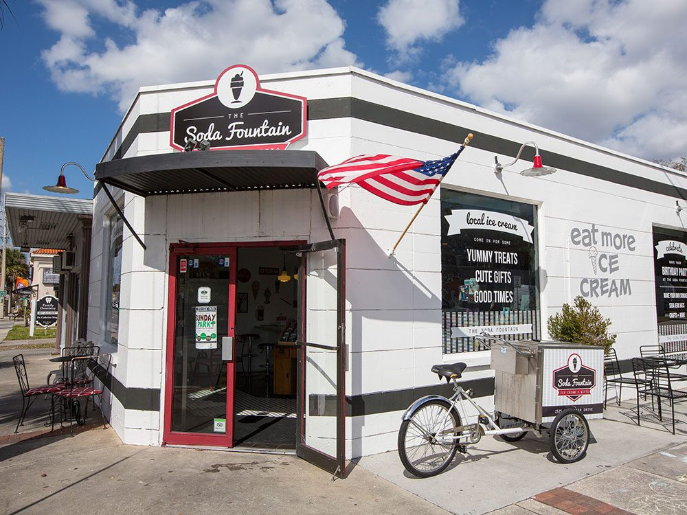 Things to do in Orlando: Soda Fountain in College Park