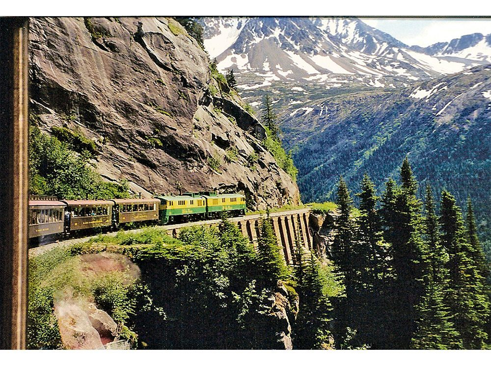 White Pass and Yukon railroad route