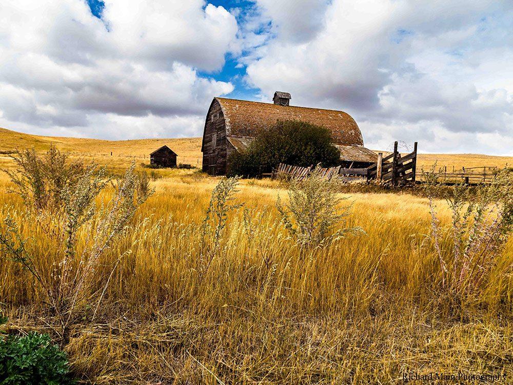 Barn in Western Canada