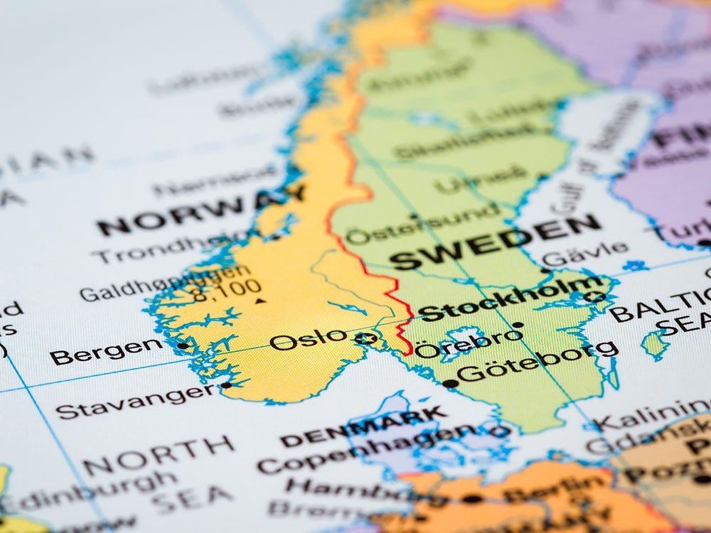 AncestryDNA: Scandinavian origins