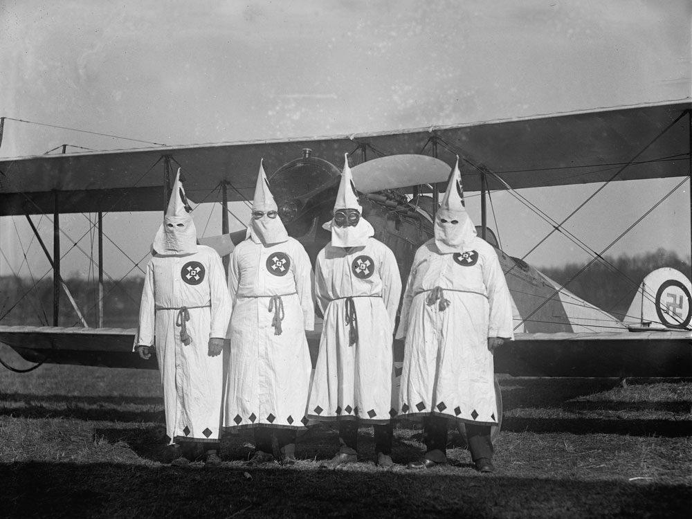 Members of the Klu Klux Klan