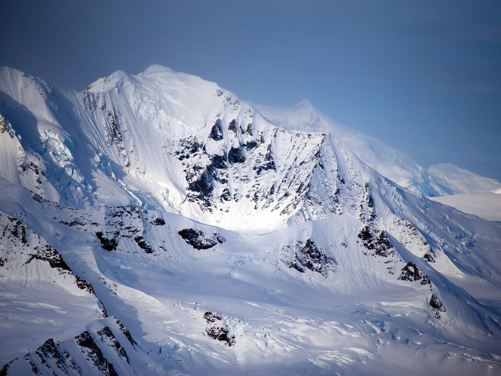 Mount Logan in the Yukon