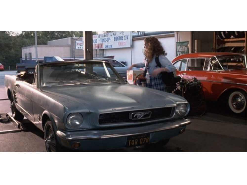 """1966 Ford Mustang from """"The Princess Diaries"""""""