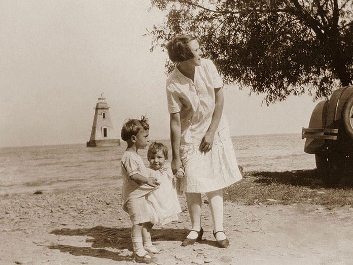 Mimico Beach in 1927