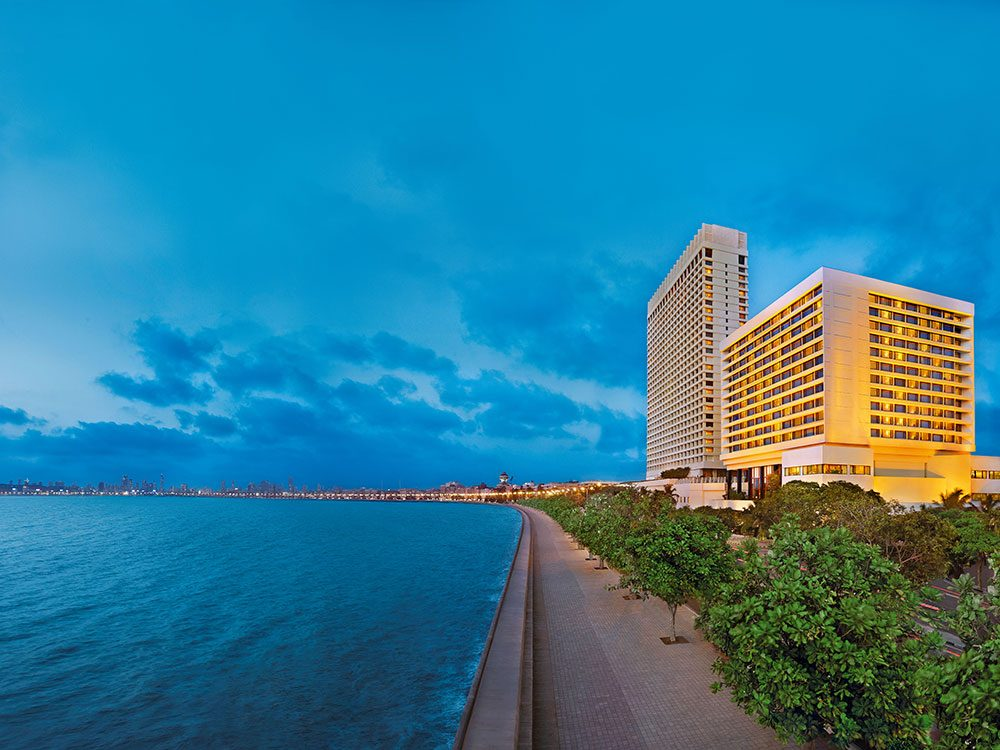 Ocean views at the Oberoi Mumbai