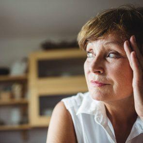 How to overcome prejudice - Senior woman contemplating