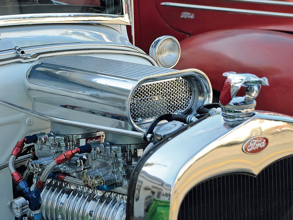Classic Ford engine