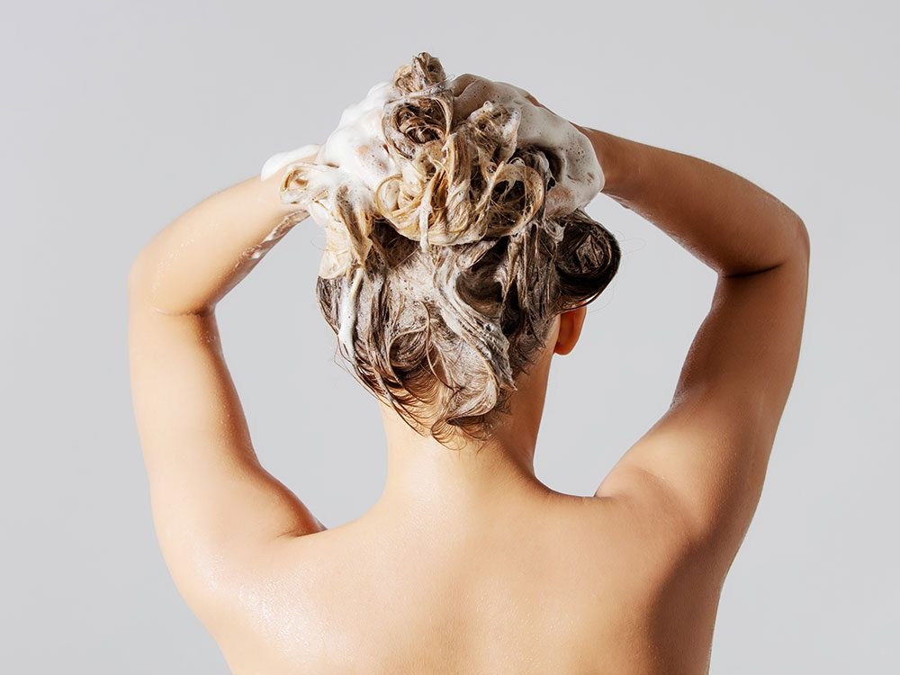 Body parts you should wash less often: Hair