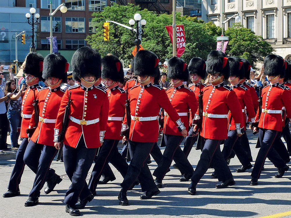 Canada Day: Changing of the Guard