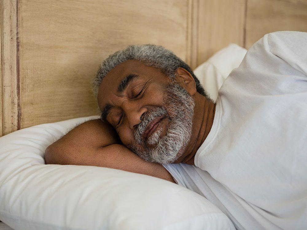 Health studies on the sleep patterns of seniors