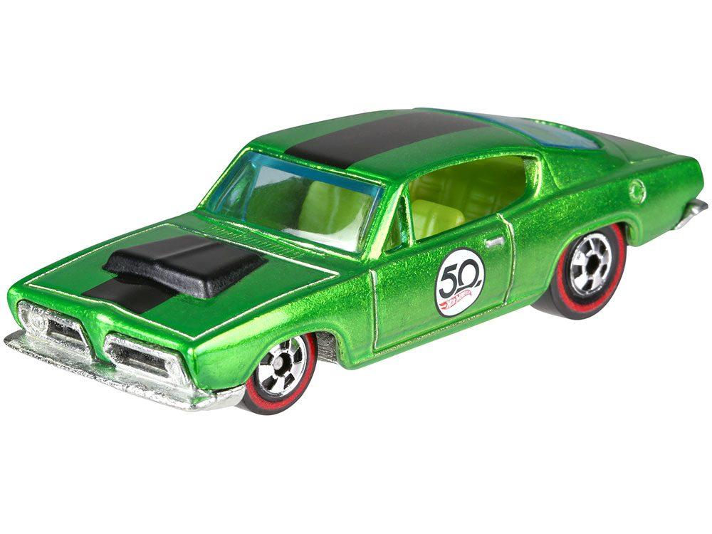 1967 Plymouth Barracuda toy car