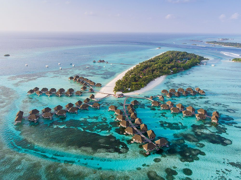 The Maldives are islands that will disappear in 80 years