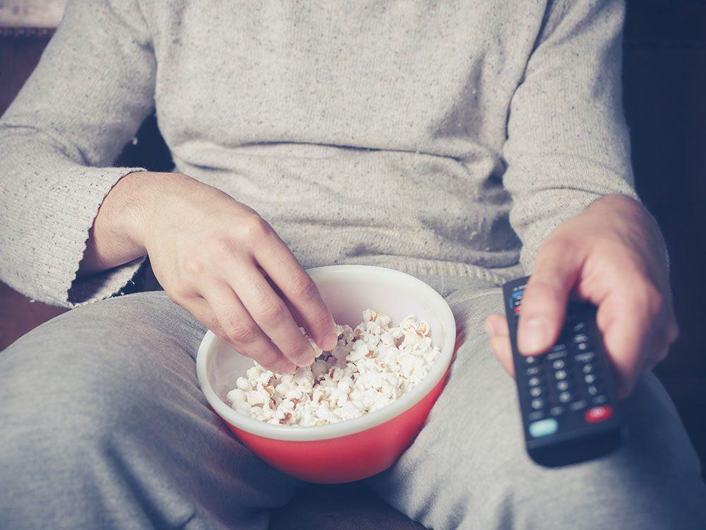 New health studies - couch potato