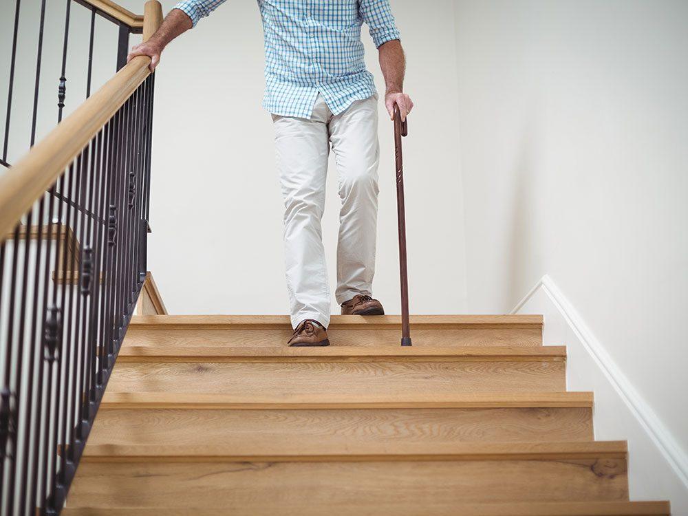 New health studies - seniors falling