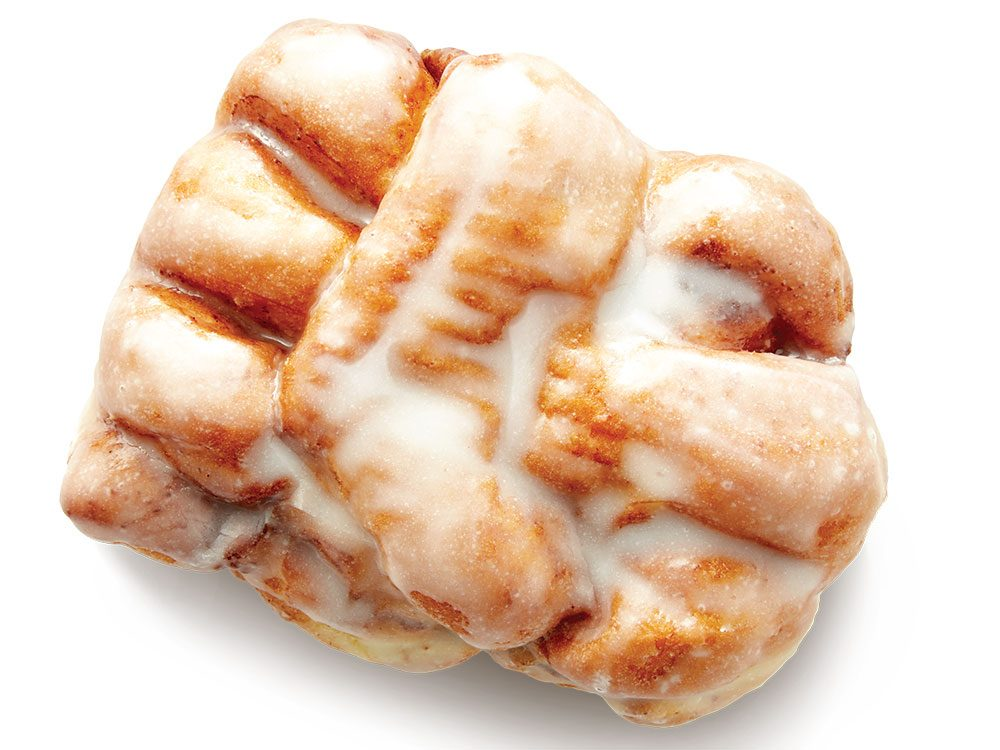 Tim Hortons apple fritter