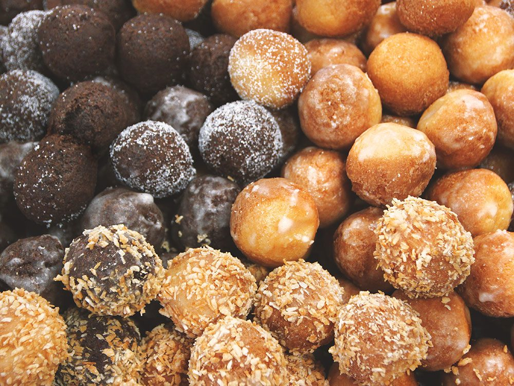 Timbits from Tim Hortons