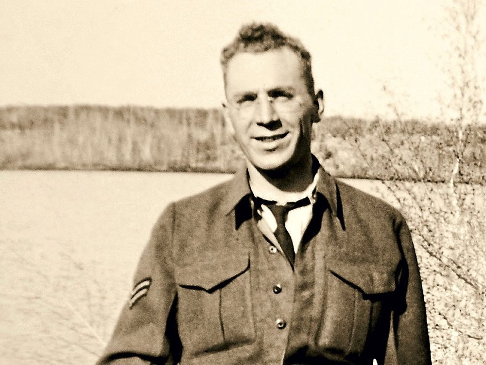 Canadian veteran Hubert Landry