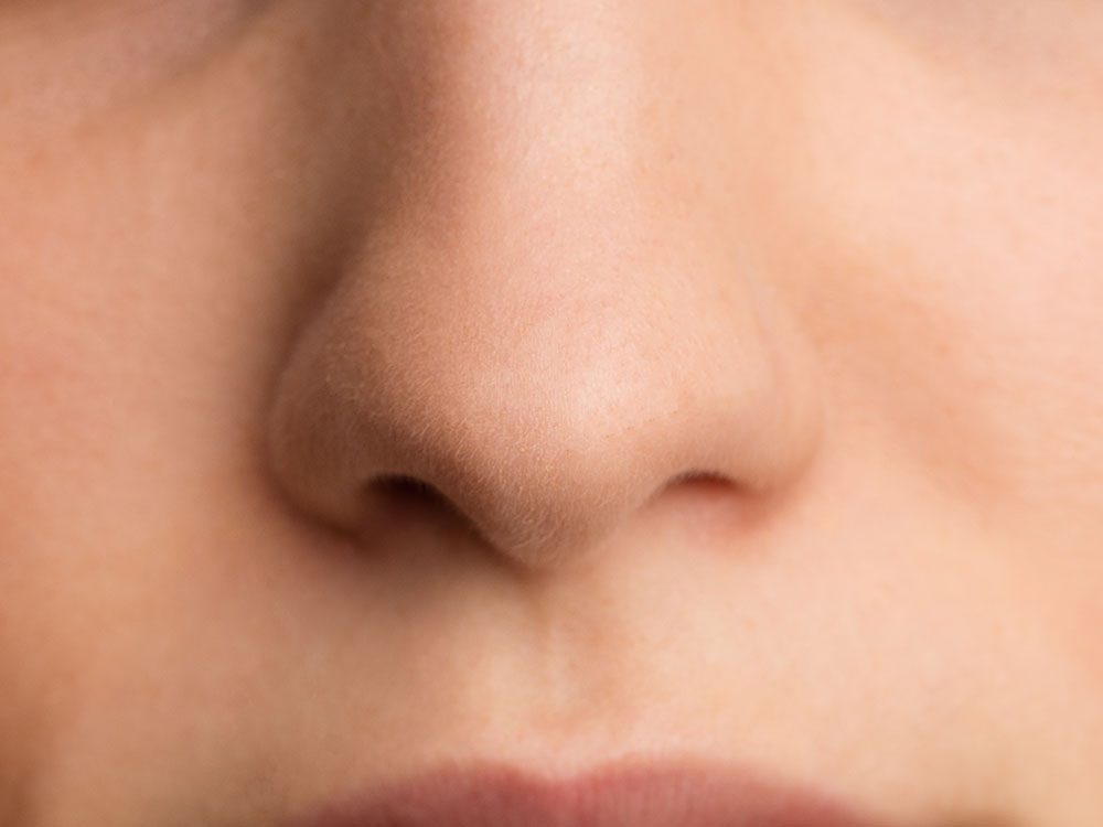 Anosmia is the loss of your sense of smell