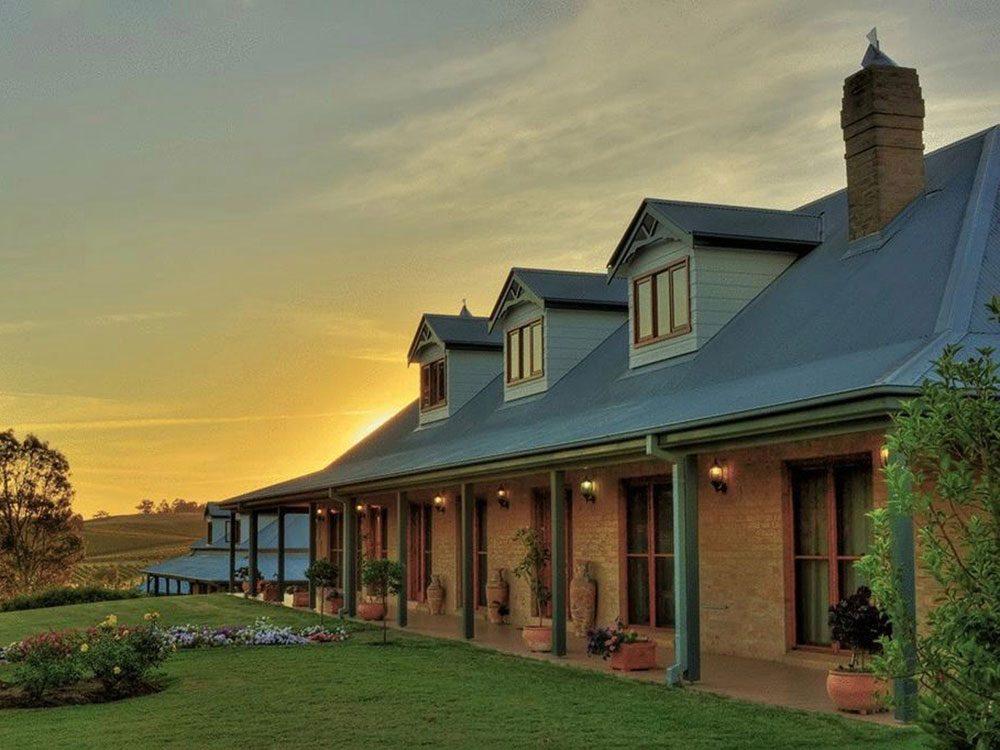 Hotel in Pokolbin, Australia