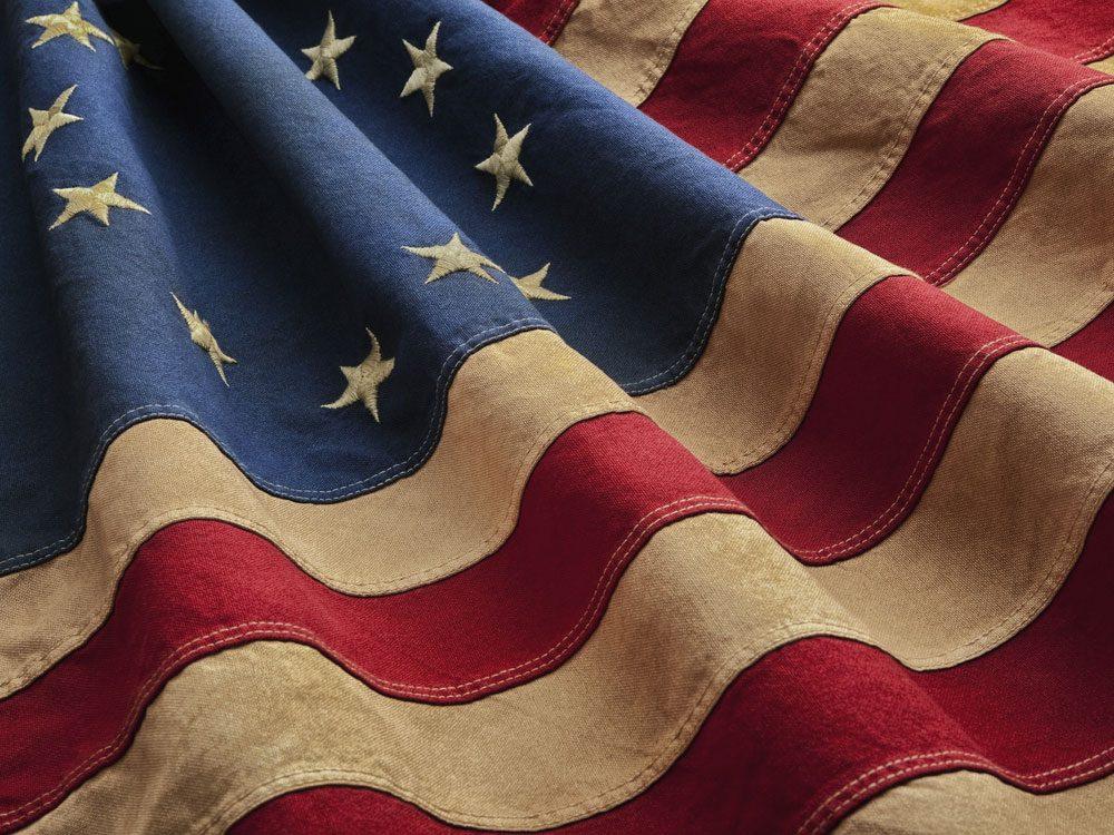 Original design of the United States flag