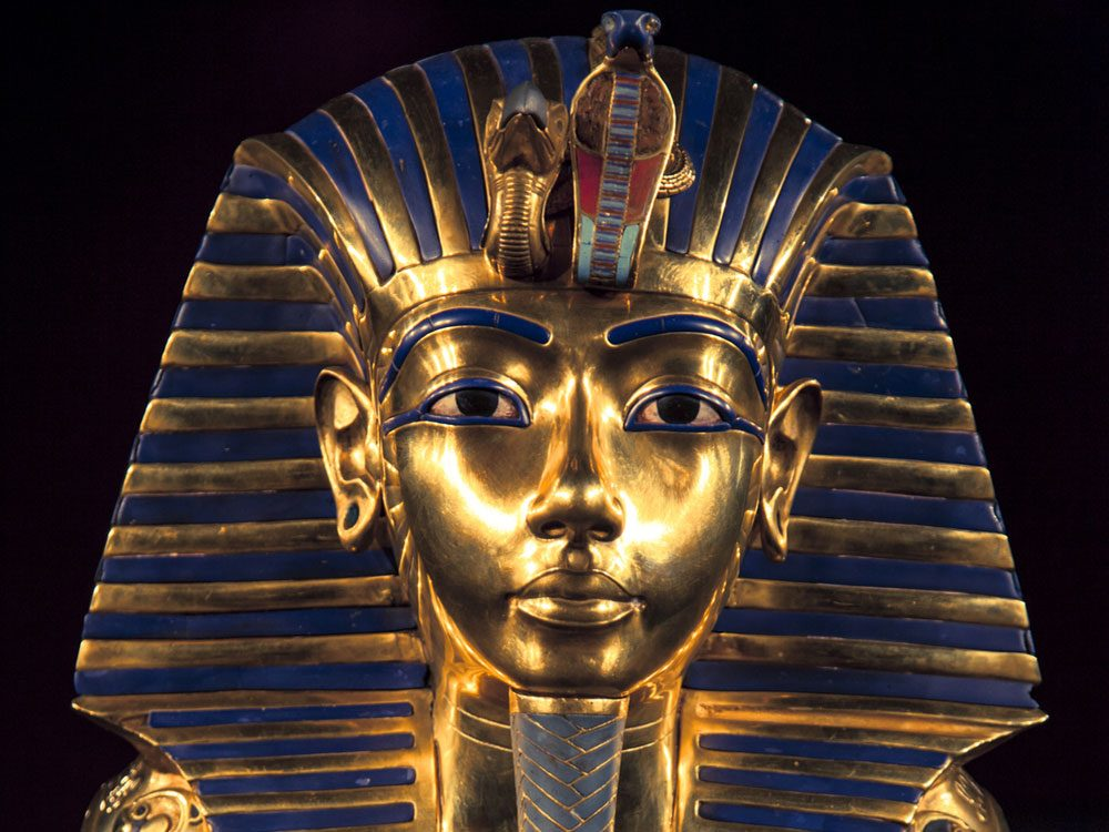 Funeral mask of King Tut