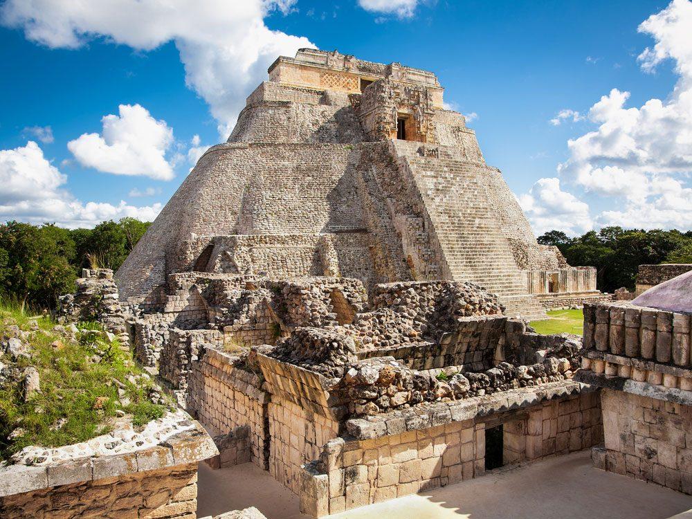 Ruins of Mayan city