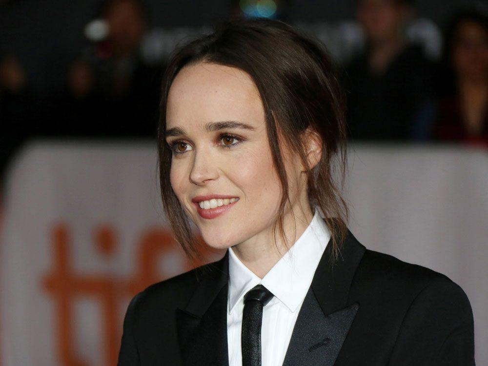 Ellen Page at the 2015 Toronto International Film Festival