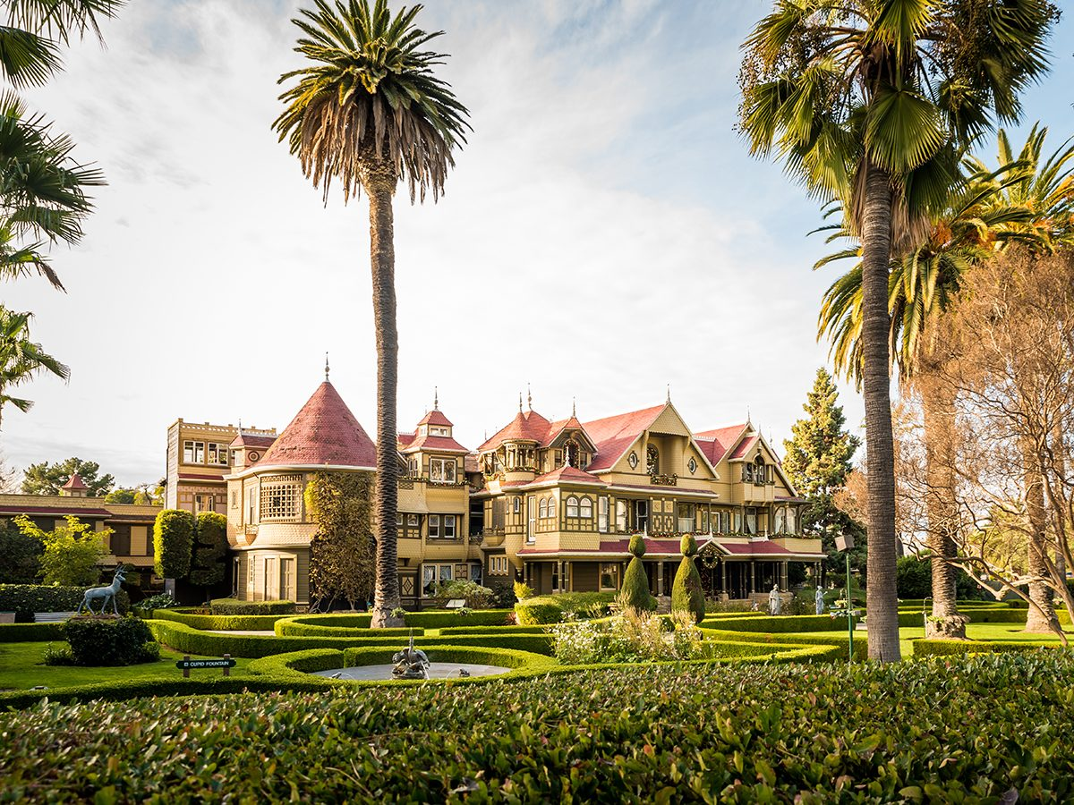 Haunted house mysteries - Winchester Mystery House