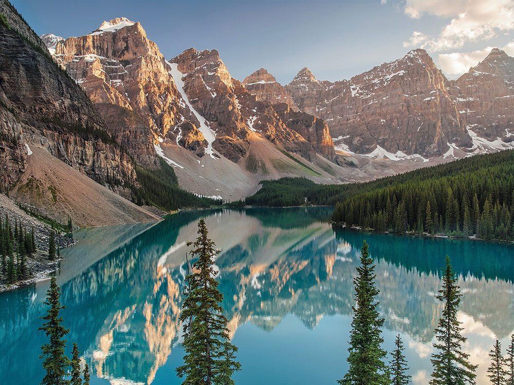 Moraine Lake in Banff National Park, Alberta