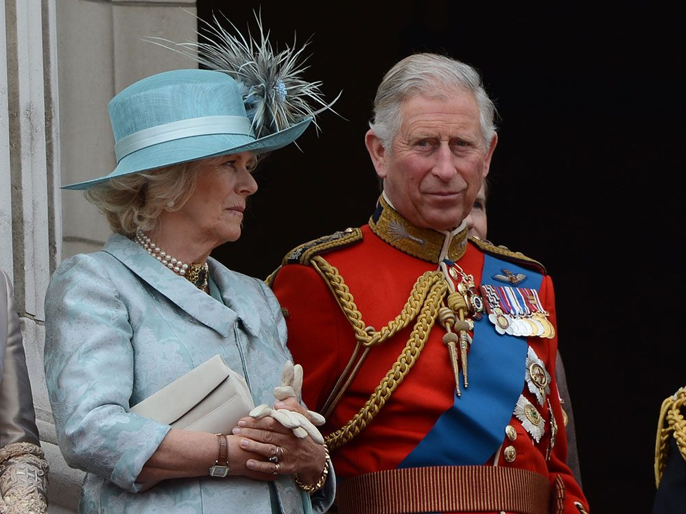 Charles and Camilla at Buckingham Palace