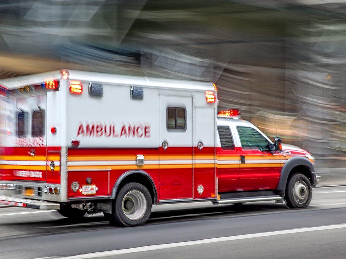 Drama in real life - ambulance