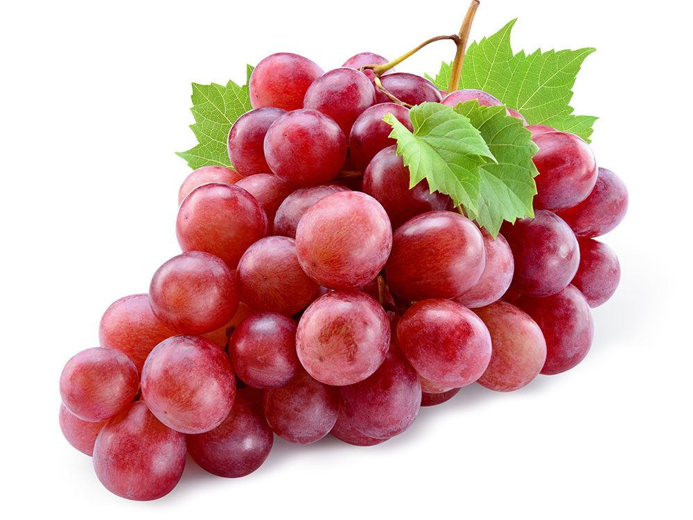 Grapes reduce inflammation