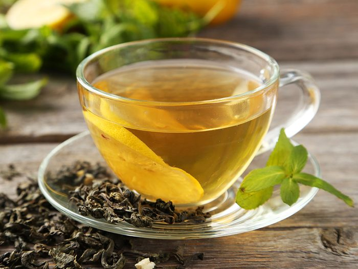 Green tea fights inflammation