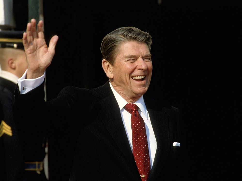 History jokes from Ronald Reagan