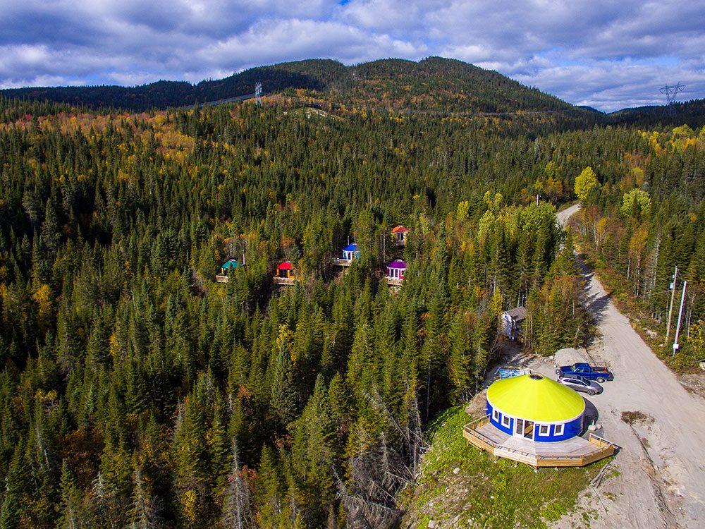 Imago Valley eco-friendly yurts