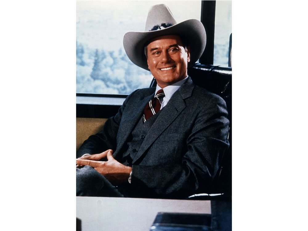 """J.R. Ewing from the show """"Dallas"""""""
