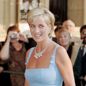 Princess Diana in a beautiful dress