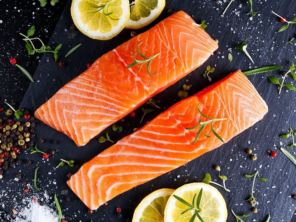 Salmon fights inflammation