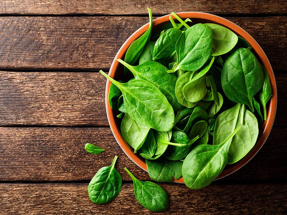 Spinach fights inflammation