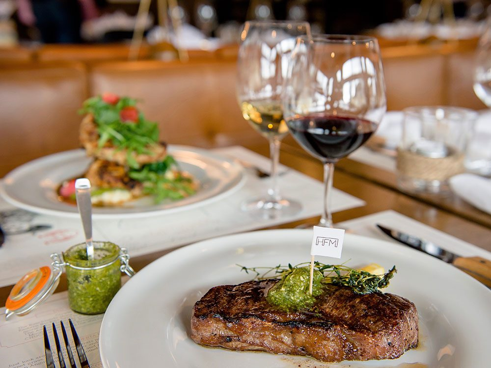 Chuck's Steakhouse in Banff, Alberta