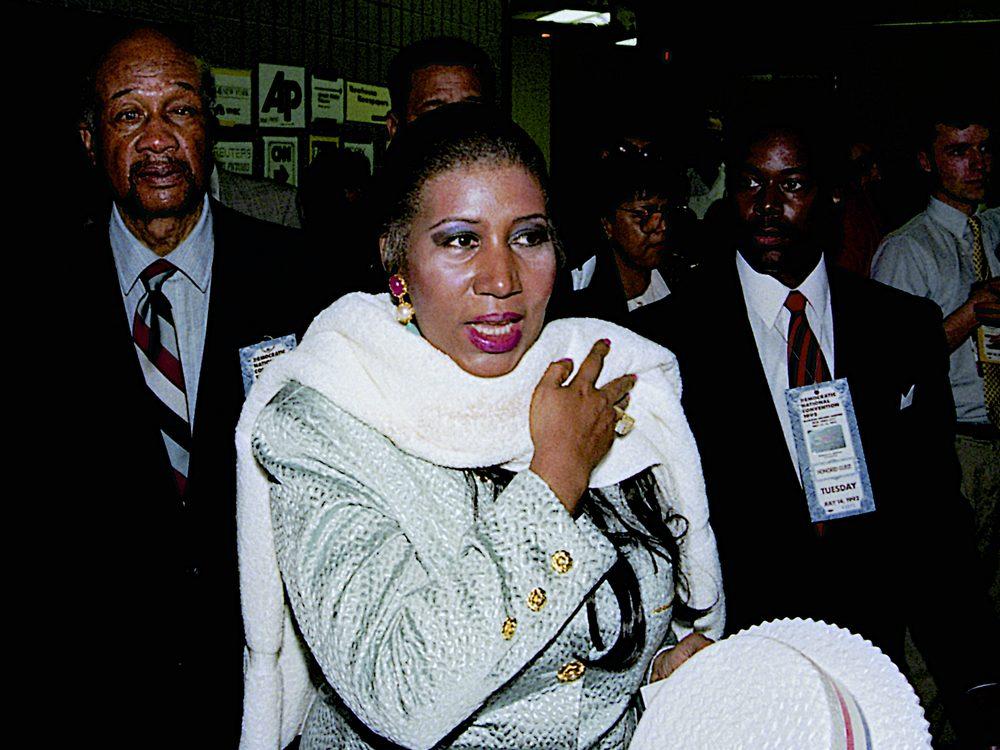 Aretha Franklin in 1992