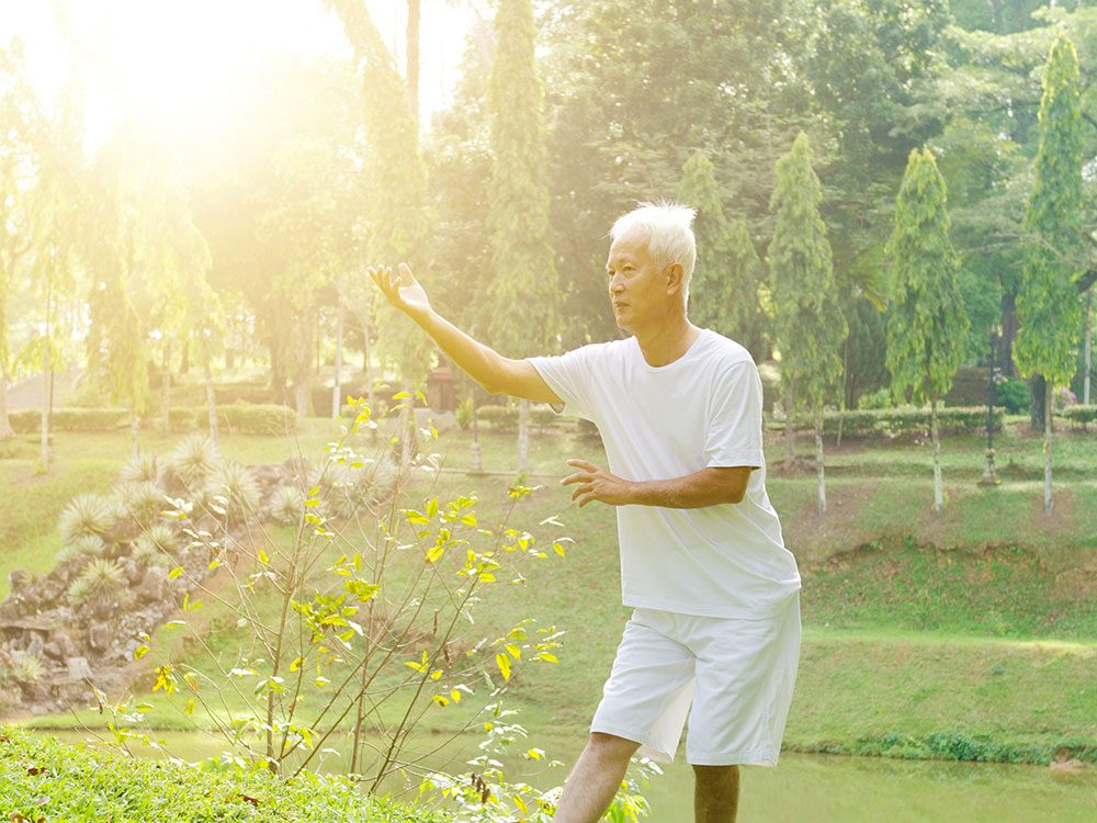 Best exercises for seniors: Tai chi