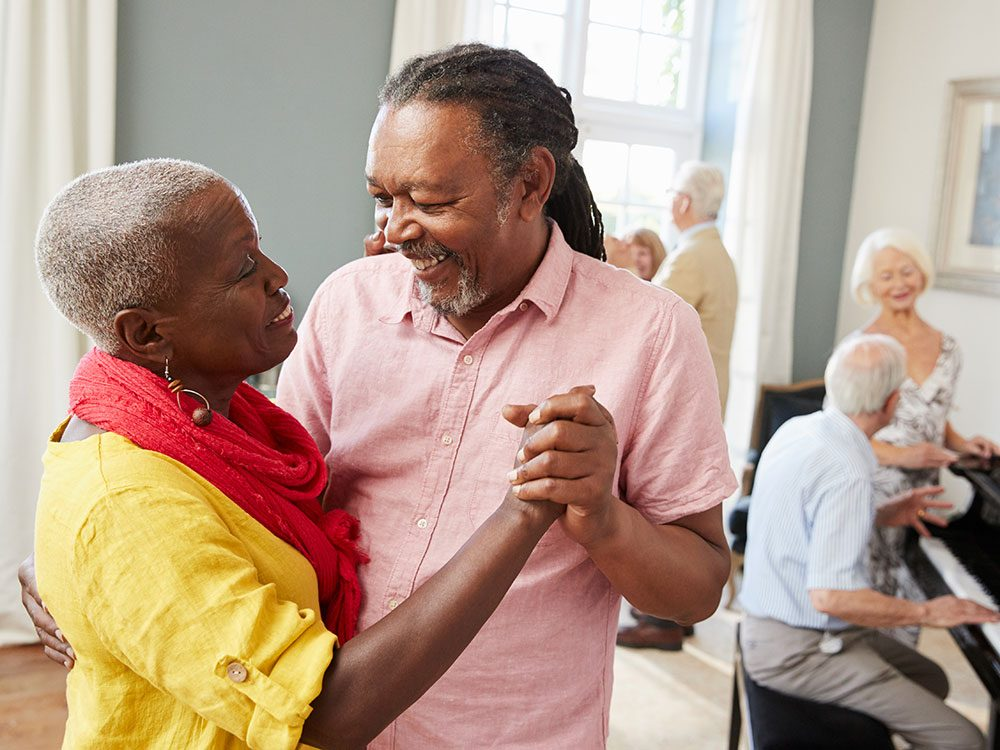 Exercises for seniors: Dancing