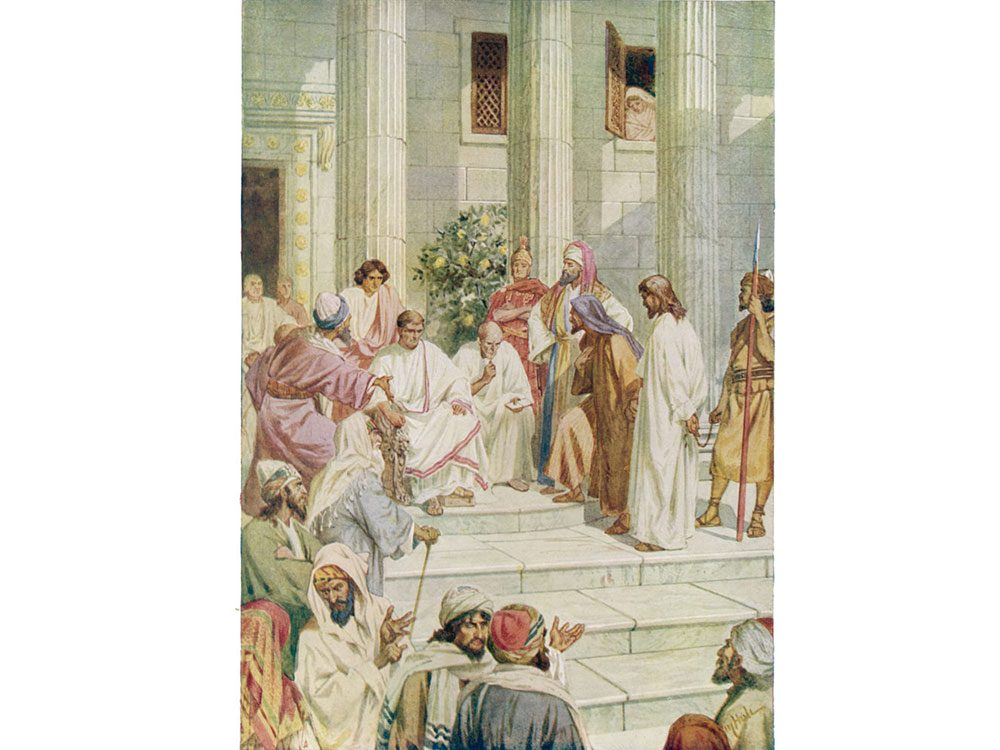 Painting of Pontius Pilate